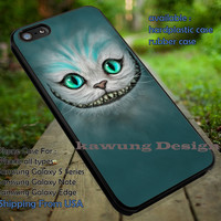 Cheshire Cat Painting Mint Disney Alice iPhone 6s 6 6s+ 5c 5s Cases Samsung Galaxy s5 s6 Edge+ NOTE 5 4 3 #cartoon #anime #alice dt