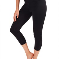 Capri With Performance Fabric - Black