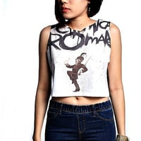 My Chemical Romance Crop Top Tank Shirt Cropped Tops S M L
