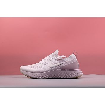 Nike Epic React Flyknit ¡°Pearl Pink¡± Running Shoes