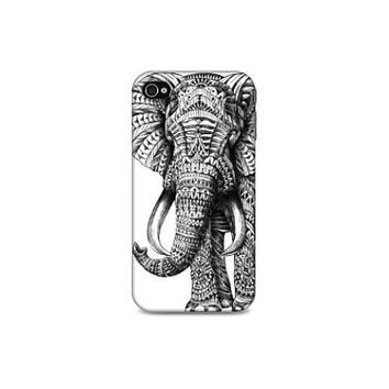 Iphone (4/4S/5) Case - Elephant