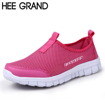 New Summer Casual Shoes Woman Network Soft Breathable Shoes Drop XMR199