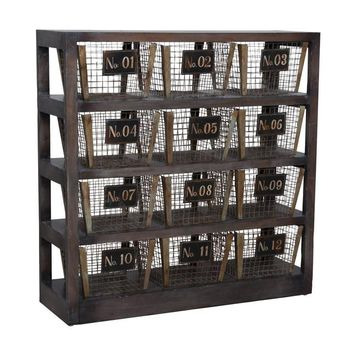 Basket Shelves Gray