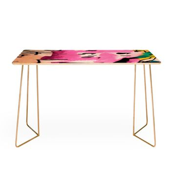 Ginette Fine Art Pink Twink Abstract Desk