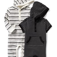 Hooded One-Piece 2-Pack for Baby   Old Navy