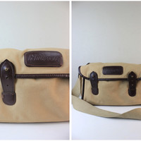 Nikon Vintage Camera Bag Soft Case in Brown with Inserts and Adjustable Strap