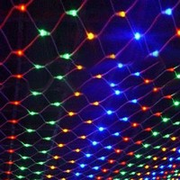 1.5m*1.5m Led String Net Lights Butterfly Decorative Lamp for Party Chrismas Tree Garden Home EU 220V