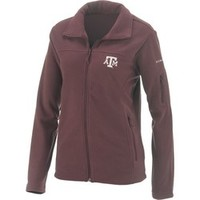 Academy - Columbia Sportswear Women's Texas A&M University Give and Go™ Full Zip Fleece Jacket