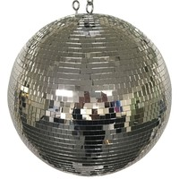 "Eliminator Lighting Mirror Disco Ball (16"") ELIMEM16"