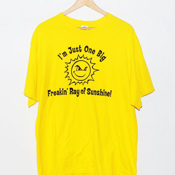 Vintage Graphic Sun Shirt