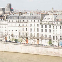 Paris France River Seine Architecture Fine Art Photography Print