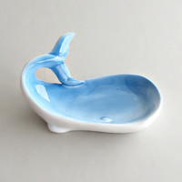 Small Darling Whale Jewelry Tray
