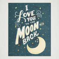 Sayings Long-Distance Relationship Print by ModCloth