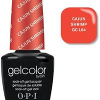 Opi Gelcolor Collection Nail Gel Lacquer, Cancun Shrimp, 0.5 Fluid Ounce
