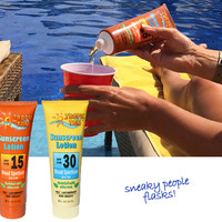 SUNSCREEN FLASK SET