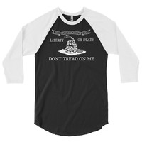 Culpeper Minutemen Don't Tread On Me 3/4 Sleeve Raglan