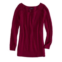 AEO Factory Women's Cable Knit Crew Sweater