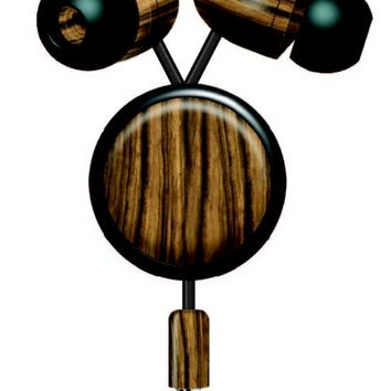Wood and Attaching Noise Canceling Retractable Earbuds
