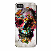 Floral Sugar Skull iPhone 5s Case
