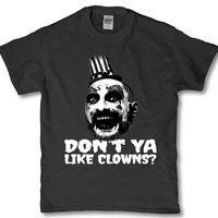 House of a 1000 Corpes - Horror Don't ya like clowns t-shirt