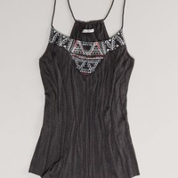 AEO Women's Embroidered Cami