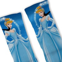 Cinderella Disney Princess Fast Shipping!! Nike Elite Socks Customized