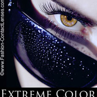 Affectionate Caramel Extreme Color Contact Lenses