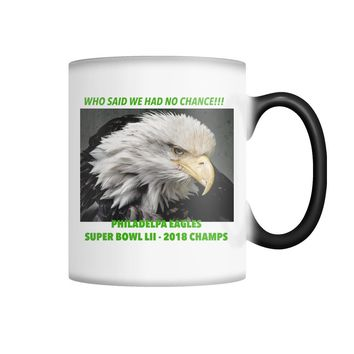 Eagles Cup Color Changing Mug