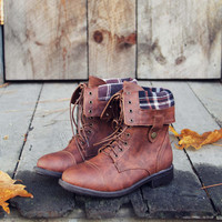 The Lodge Boots in Cognac