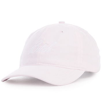 The Raving Bitch Sports Dad Cap in Pink
