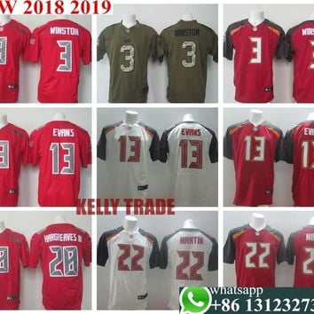 100% Stitiched,tampa bay  s,#3 Jameis Winston,#13 Mike Evans,#22 Doug Martin,Vernon Hargreaves,Warren Sapp,cus Jersey
