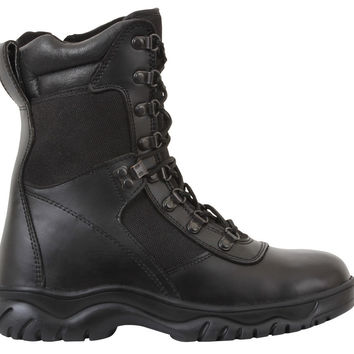 """Rothco Forced Entry 8"""" Tactical Boot With Side Zipper"""