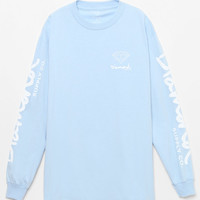 Diamond Supply Co OG Script Blue Long Sleeve T-Shirt at PacSun.com