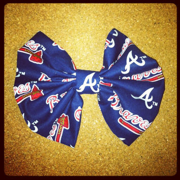 Braves Hair Bow