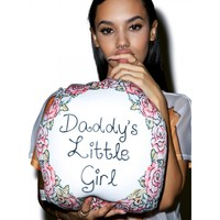 DADDY'S LITTLE GIRL PILLOW