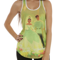 Disney The Princess And The Frog Wedding Girls Tank Top