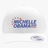 Michelle Obama 2020 Embroidered Retro Embroidered Trucker Hat