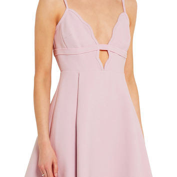 Cutout crepe mini dress | Giambattista Valli | US | THE OUTNET