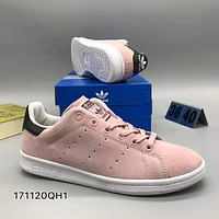 Adidas Smith men and women fashion casual shoes F-CSXY Pink