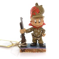 Jim Shore HAPPY HUNTER ELMER FUDD Polyresin Looney Tunes 4054867