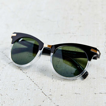 COME AND GET ME CAT EYE SUNGLASSES- GOLD