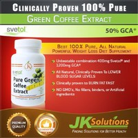 PURE Green Coffee Bean Extract with Svetol & GCA 800mg. (1600mg Per Day) Best Quality Available. 100% Clinically Proven. Buy The Best 100% Pure, All Natural Powerful Weight Loss Diet Supplement / Best Seller / Risk Free / UNCONDITIONAL GUARANTEE!:Amazon:He