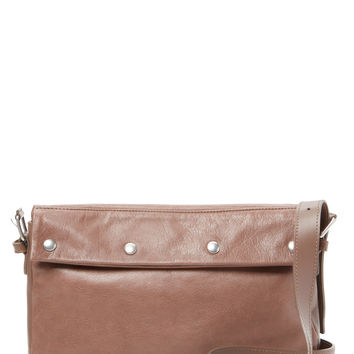 See by Chloe Women's Small Studded Leather Crossbody - Cream/Tan
