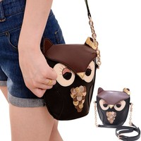 Gaorui Owl Satchel Messenger Women Shoulder Bag Cute Girls Handbag Cross Body Purse Bag:Amazon:Shoes