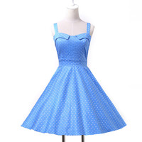 Grace Karin 2014 Women Vintage Swing 50s 60s Retro Pinup Rockabilly Housewife Prom Evening Dress XS S M L XL CL6093