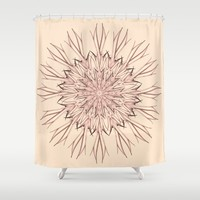 Mandala pastel  Shower Curtain by VanessaGF