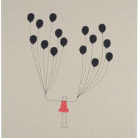 k studio — balloons 32x40 wall art