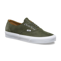Vans Authentic Decon(Prem Leather)Grape Leaf
