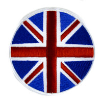 British Flag Patch Iron on Applique Alternative Clothing