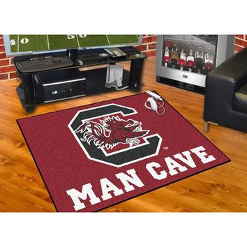 "South Carolina Gamecocks NCAA Man Cave All-Star"" Floor Mat (34in x 45in)"""